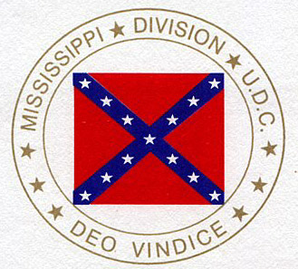 The Official Seal of the Mississippi Division UDC