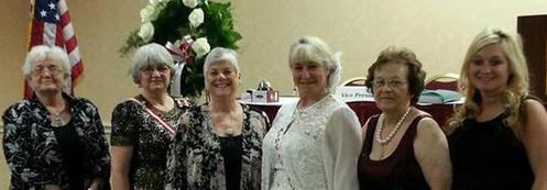 Biloxi Beauvoir Chapter 623 at MS-Division Convention