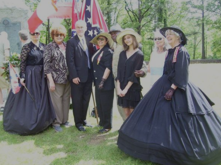 Confederate Memorial Day Svc, April 2015 at Ole Miss
